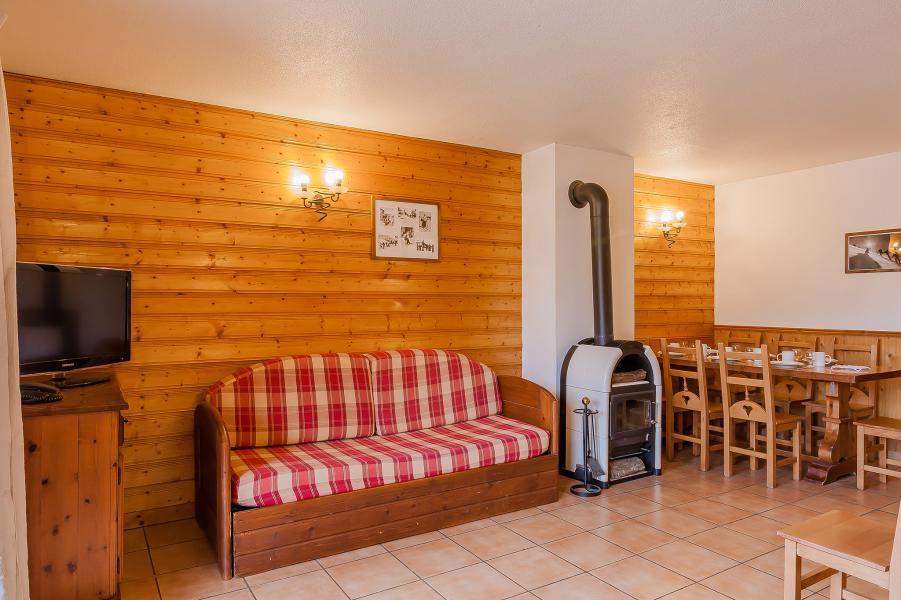Vacances en montagne Résidence le Val Chavière - Val Thorens - Banquette-lit