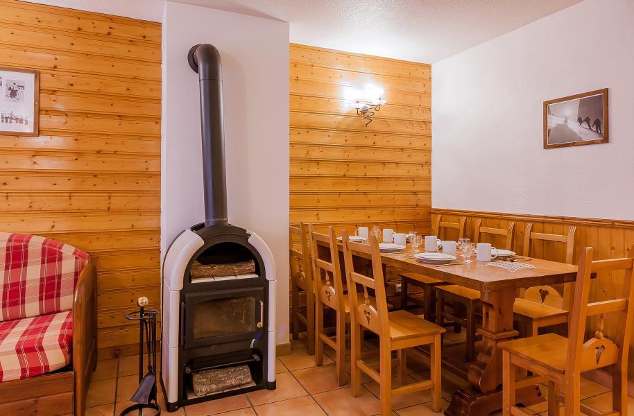 Vacances en montagne Résidence le Val Chavière - Val Thorens - Coin repas