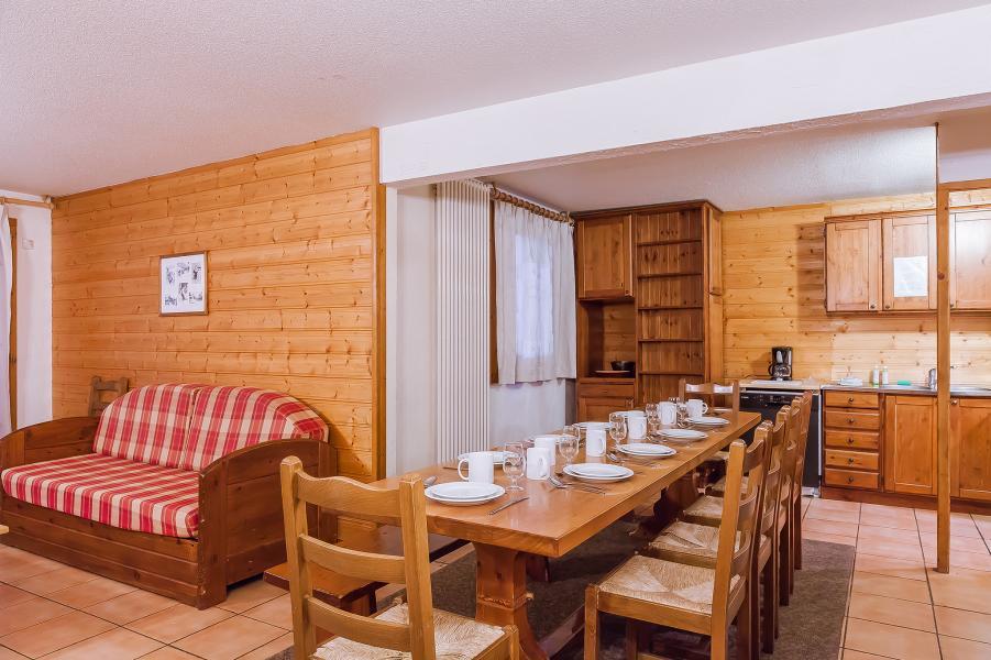 Urlaub in den Bergen Résidence le Val Chavière - Val Thorens - Essbereich