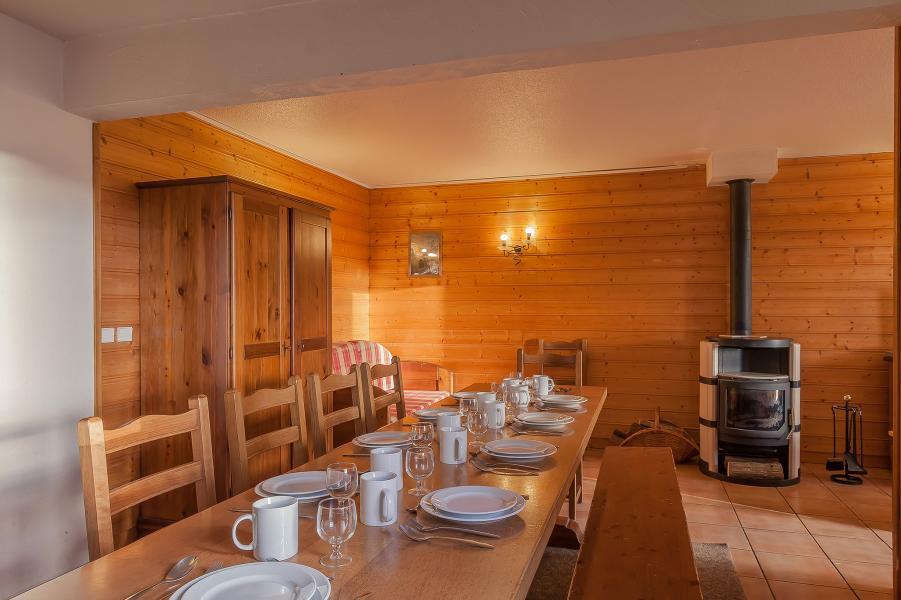 Urlaub in den Bergen Résidence le Val Chavière - Val Thorens - Tisch