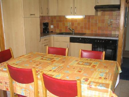 Wakacje w górach Apartament 2 pokojowy 5 osób (A4) - Résidence le Val Pierre - Châtel - Aneks kuchenny