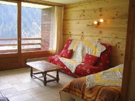 Wakacje w górach Apartament 2 pokojowy 5 osób (A4) - Résidence le Val Pierre - Châtel - Pokój gościnny