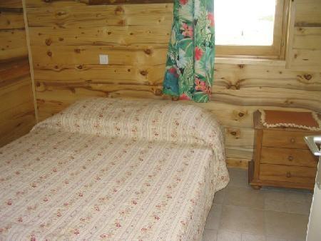Vacaciones en montaña Apartamento 2 piezas para 5 personas (A4) - Résidence le Val Pierre - Châtel - Cama doble