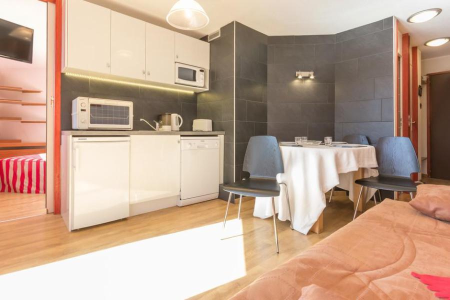 Wakacje w górach Apartament 2 pokojowy 6 osób (18) - Résidence le Valaisan I - La Rosière - Kuchnia otwarta