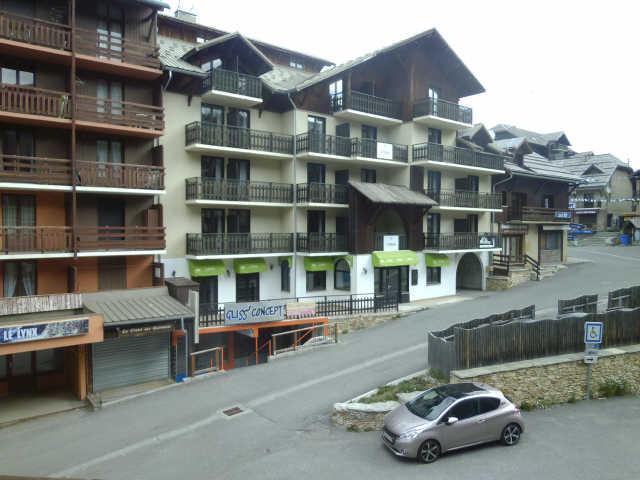 Location au ski Studio coin montagne 3 personnes (904) - Residence Le Valbel - Risoul - Extérieur été