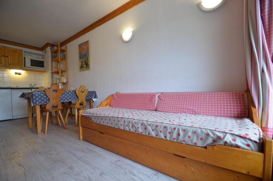 Vacances en montagne Appartement 2 pièces 4 personnes (506) - Résidence le Valmont - Les Menuires - Banquette-lit