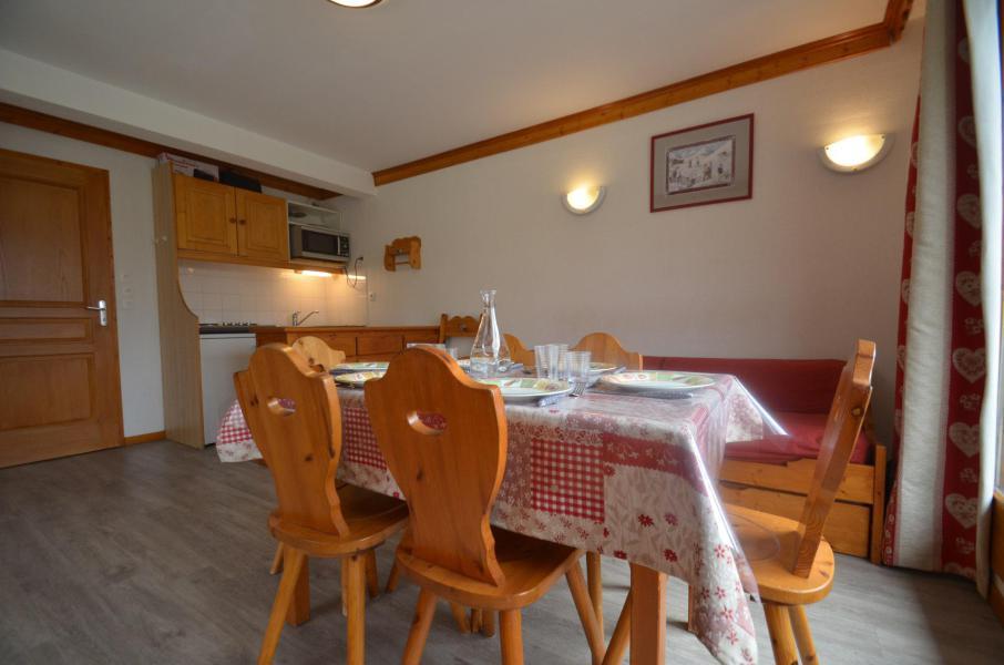 Vacances en montagne Appartement 3 pièces 6 personnes (505) - Résidence le Valmont - Les Menuires - Logement