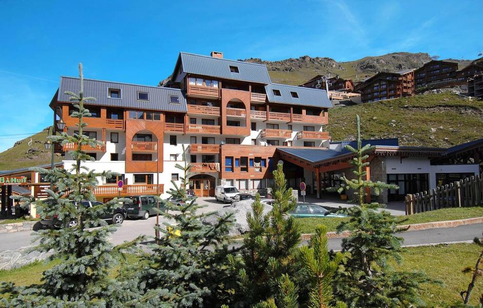 Holiday in mountain resort Résidence le Valset - Val Thorens - Summer outside