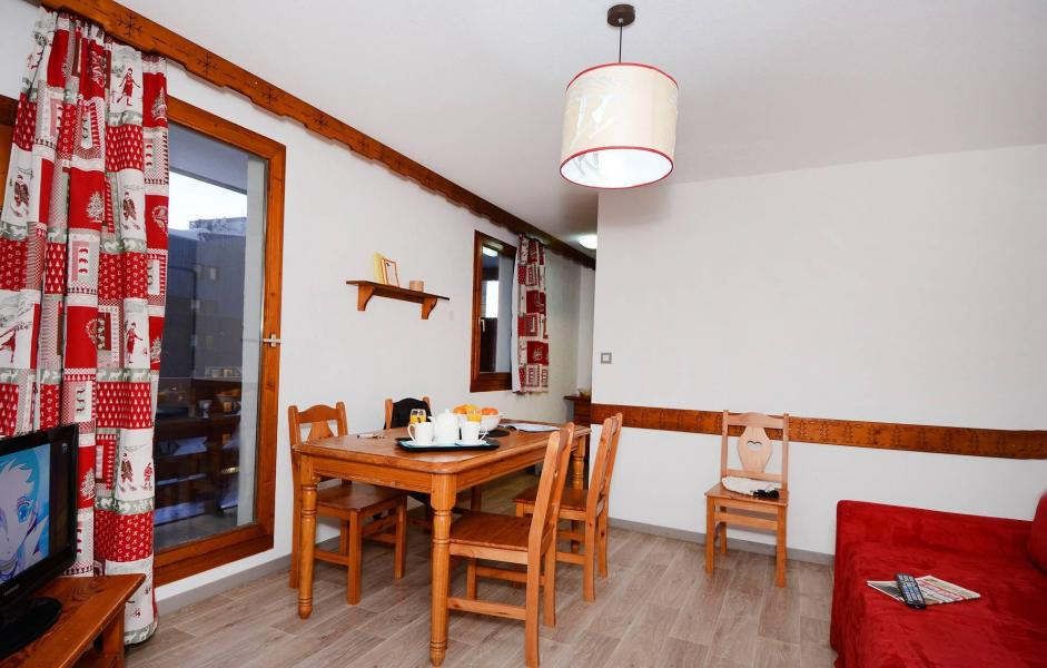 Holiday in mountain resort Résidence le Valset - Val Thorens - Dining area