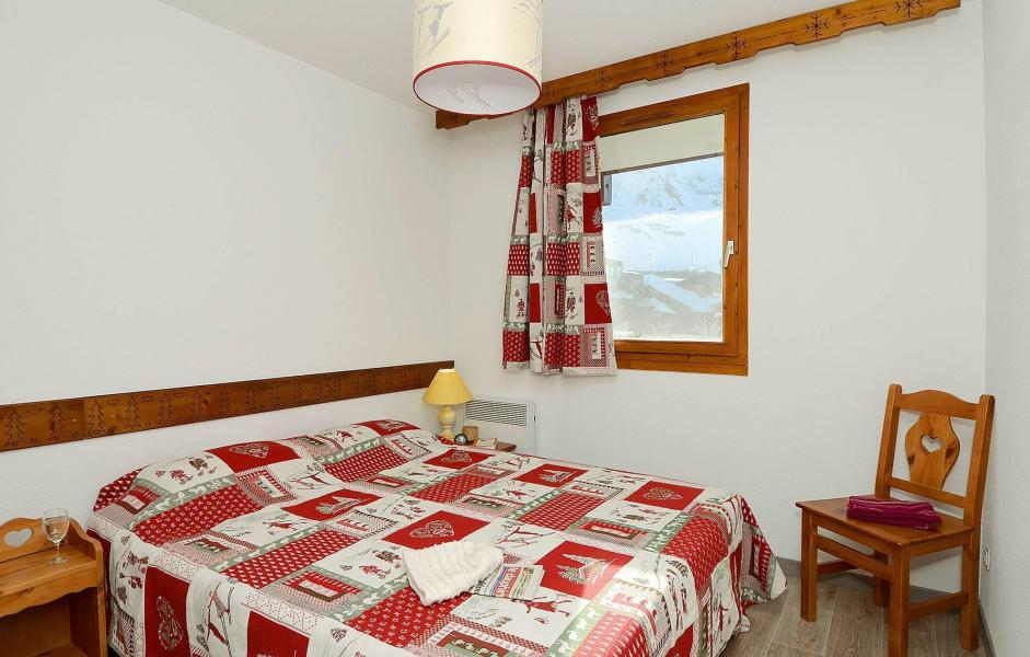 Holiday in mountain resort Résidence le Valset - Val Thorens - Double bed