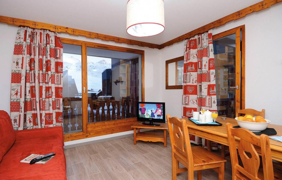 Holiday in mountain resort Résidence le Valset - Val Thorens - Living room