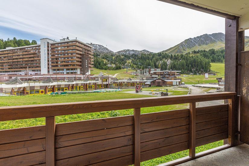 Location au ski Studio 4 personnes (108) - Résidence le Vercors - La Plagne - Extérieur été