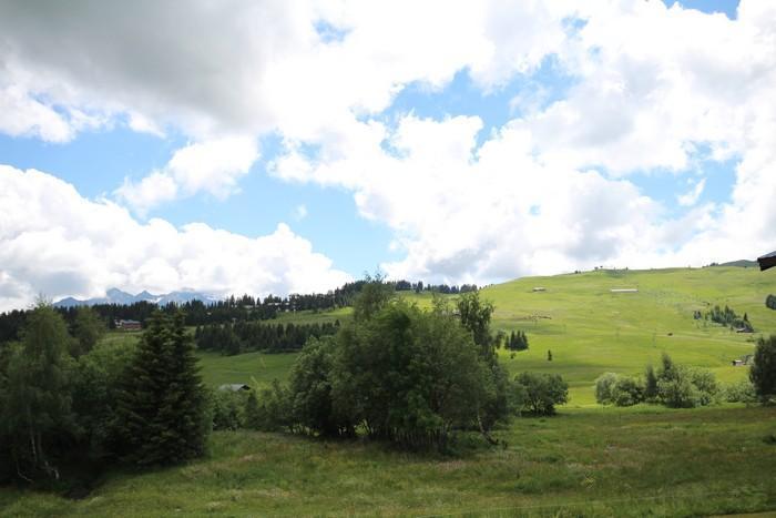 Location au ski Studio coin montagne 4 personnes (415) - Résidence le Village 4 - Les Saisies - Extérieur été