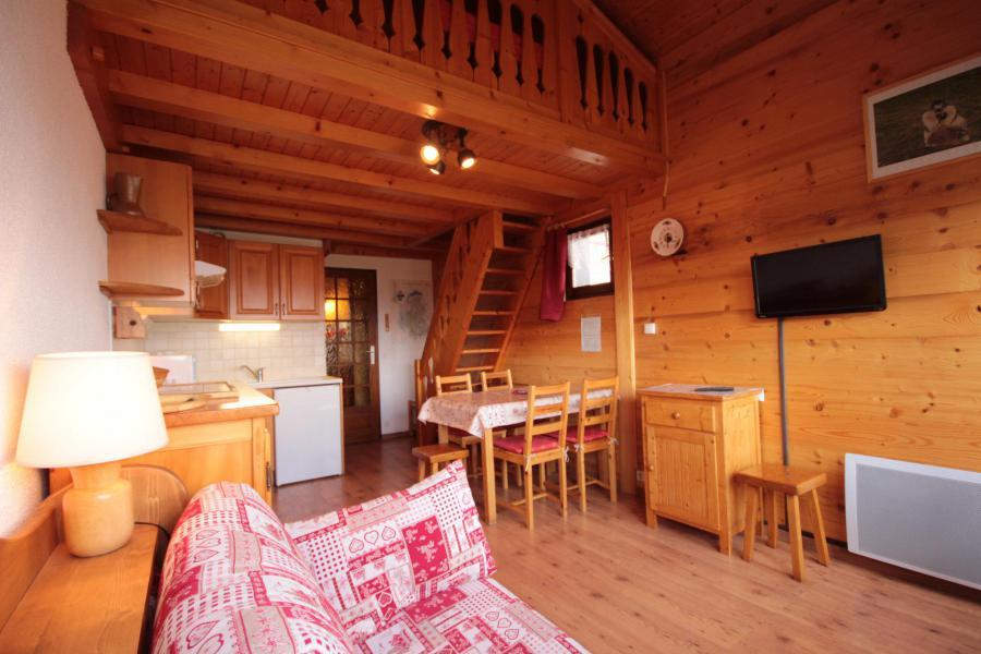 Vacaciones en montaña Apartamento 1 piezas mezzanine para 6 personas (425) - Résidence le Village 4 - Les Saisies