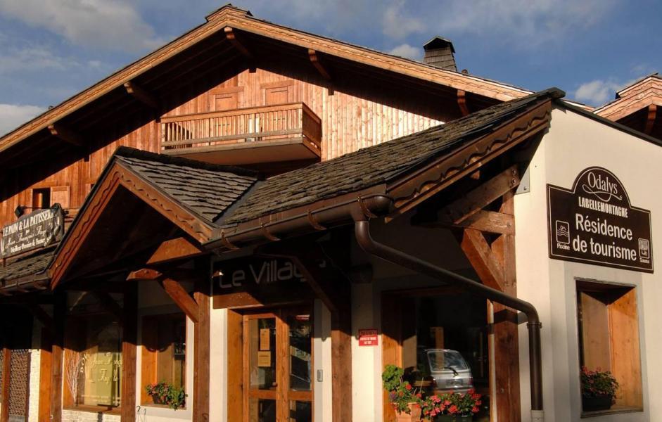Vacances en montagne Résidence le Village - Notre Dame de Bellecombe - Extérieur été