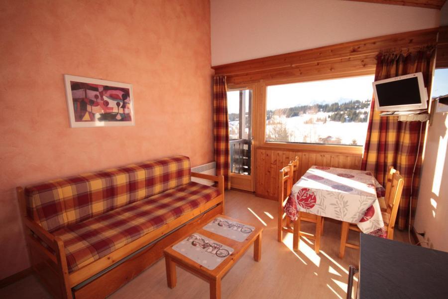 Vacaciones en montaña Apartamento 2 piezas cabina para 5 personas (533) - Résidence le Village 5 - Les Saisies - Banqueta