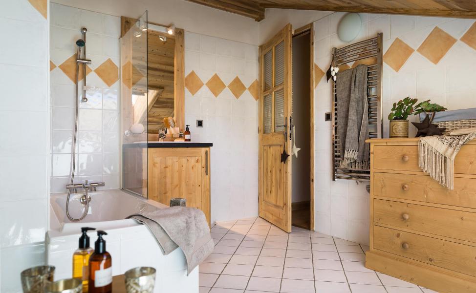 Urlaub in den Bergen Résidence le Village de Lessy - Le Grand Bornand - Badezimmer