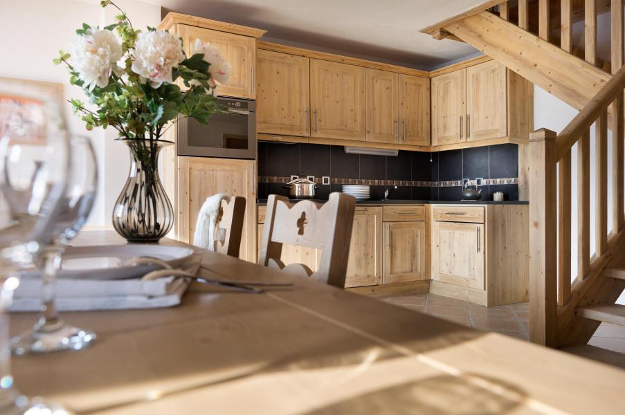 Urlaub in den Bergen Résidence le Village de Lessy - Le Grand Bornand - Küche