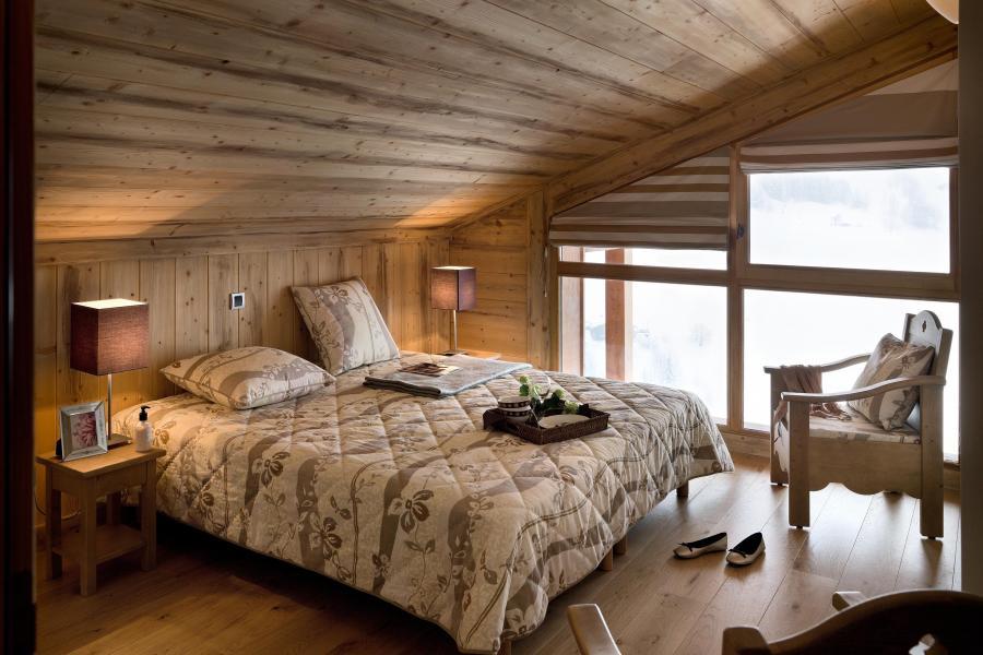 Urlaub in den Bergen Résidence le Village de Lessy - Le Grand Bornand - Schlafzimmer