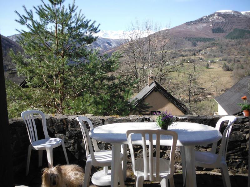 Location au ski Résidence le Village la Souleille des Lannes - Guzet - Extérieur été