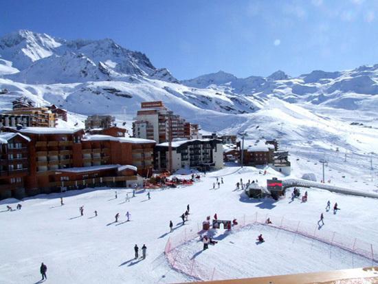 Vacances en montagne Studio 3 personnes (63) - Résidence le Zénith - Val Thorens