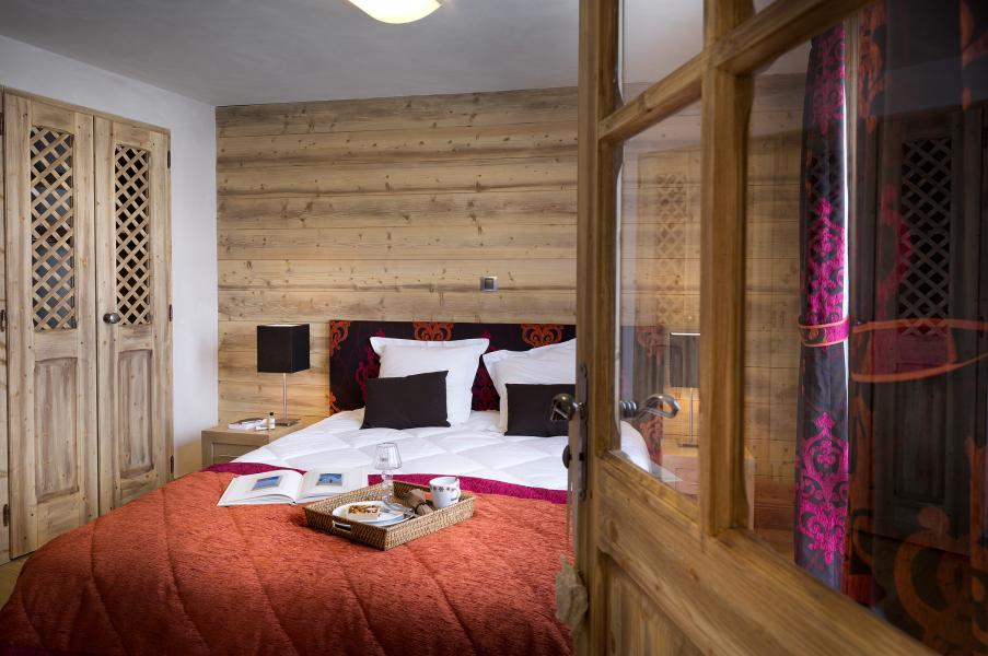 Holiday in mountain resort Résidence Léana - Les Carroz - Bedroom