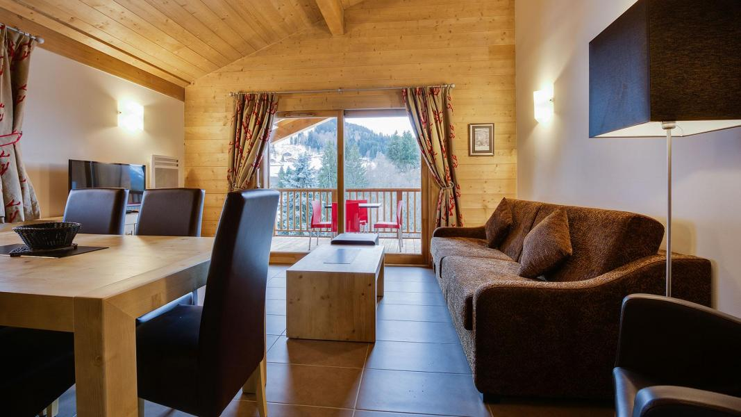Holiday in mountain resort Résidence Léana - Les Carroz - Living room