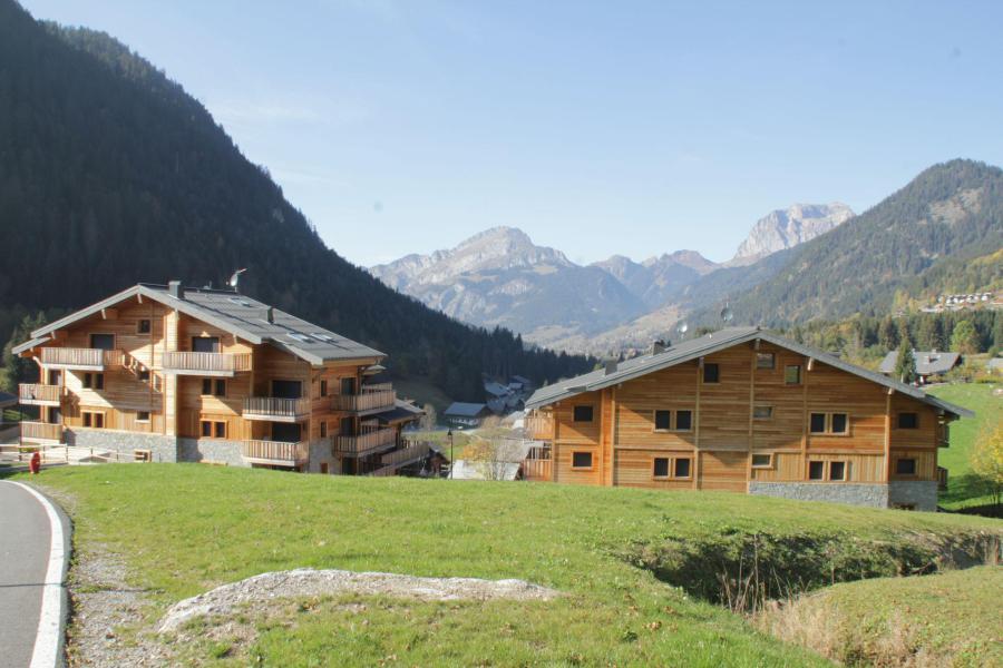 Vacaciones en montaña Résidence les 4 Eléments - Châtel - Verano