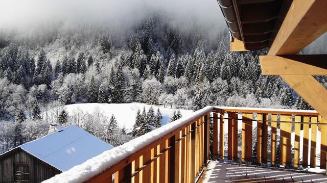 Vacaciones en montaña Apartamento dúplex 4 piezas 6 personas (A32) - Résidence les 4 Eléments - Châtel