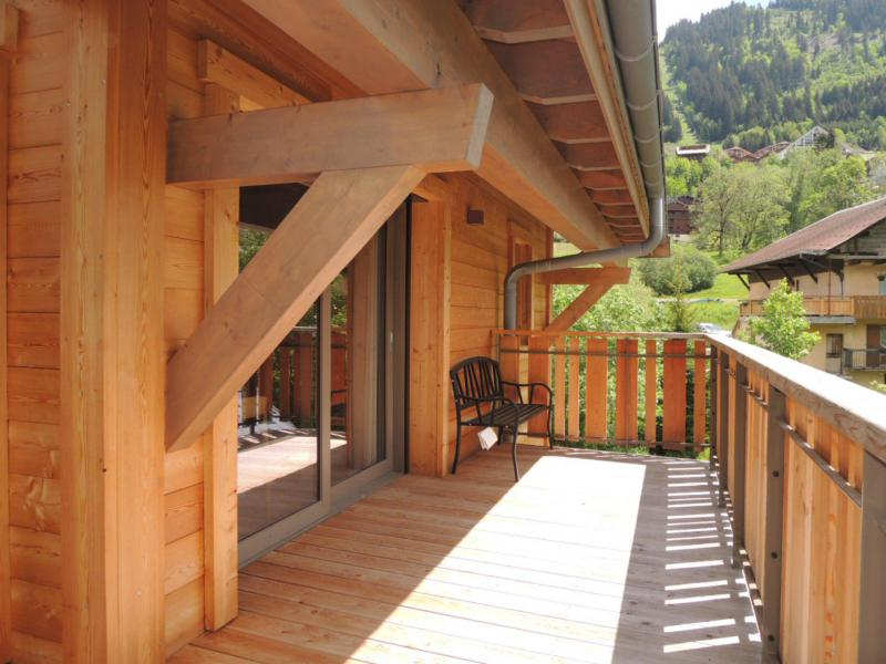 Rent in ski resort 4 room duplex apartment 6 people (A32) - Résidence les 4 Eléments - Châtel - Summer outside