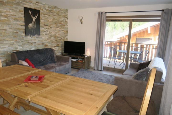 Wakacje w górach Apartament 3 pokojowy z alkową 6 osób (A14) - Résidence les 4 Eléments - Châtel - Pokój gościnny