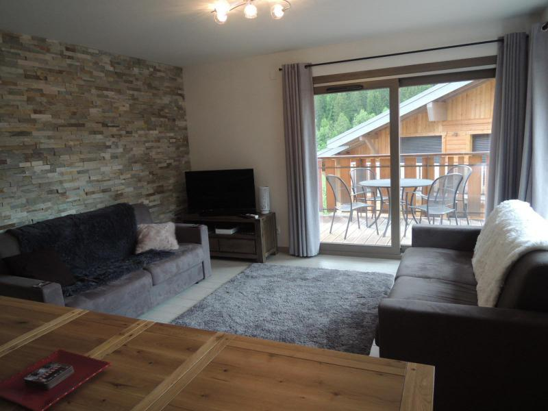 Wakacje w górach Apartament 3 pokojowy z alkową 6 osób (A14) - Résidence les 4 Eléments - Châtel - Sofą
