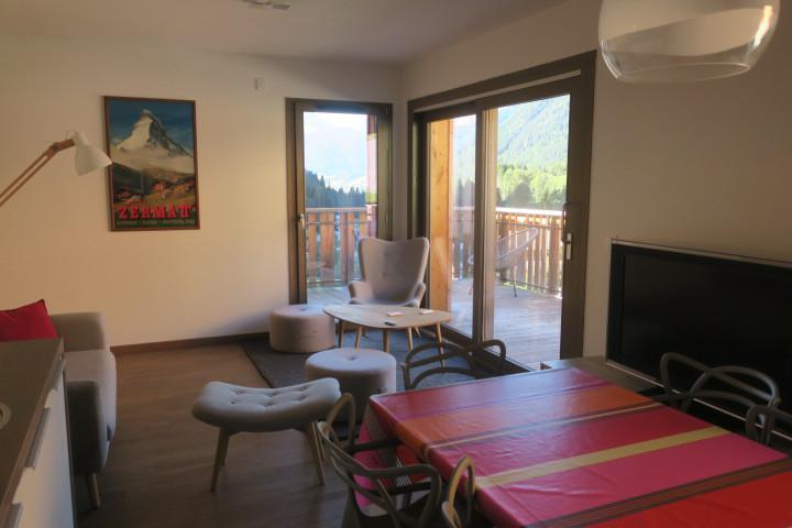 Wakacje w górach Apartament 3 pokojowy z alkową 6 osób (B205) - Résidence les 4 Eléments - Châtel - Jadalnia