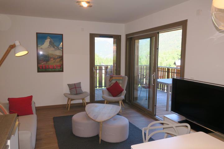Wakacje w górach Apartament 3 pokojowy z alkową 6 osób (B205) - Résidence les 4 Eléments - Châtel - Pokój gościnny