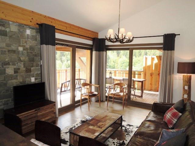 Wakacje w górach Apartament duplex 4 pokojowy 6 osób (A32) - Résidence les 4 Eléments - Châtel - Pokój gościnny