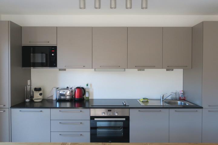 Vacaciones en montaña Apartamento cabina 3 piezas para 6 personas (A14) - Résidence les 4 Eléments - Châtel - Cocina