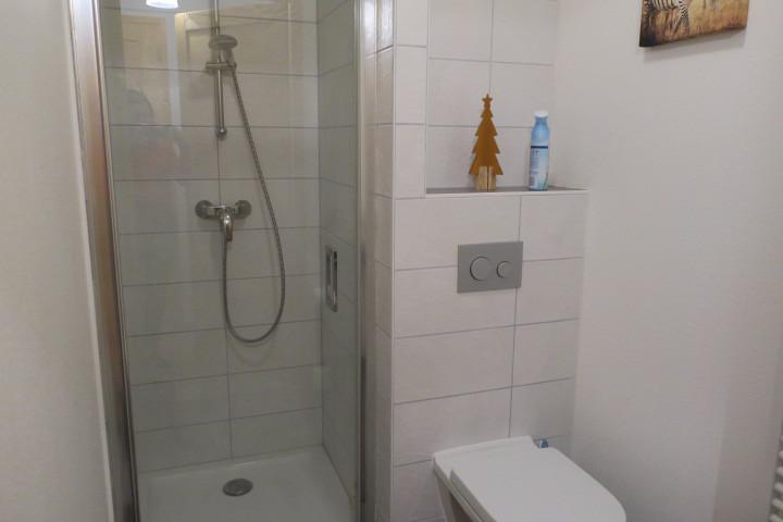 Vacaciones en montaña Apartamento cabina 3 piezas para 6 personas (A14) - Résidence les 4 Eléments - Châtel - Ducha