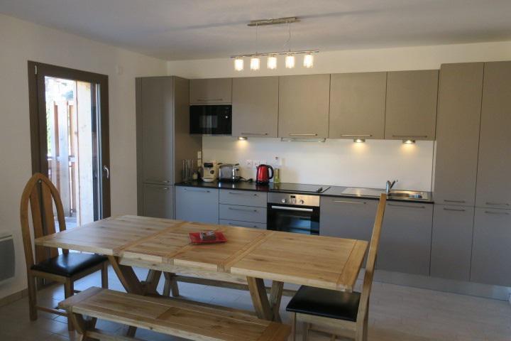 Vacaciones en montaña Apartamento cabina 3 piezas para 6 personas (A14) - Résidence les 4 Eléments - Châtel - Mesa