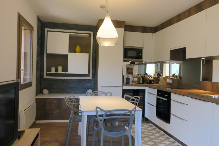 Vacaciones en montaña Apartamento cabina 3 piezas para 6 personas (B205) - Résidence les 4 Eléments - Châtel - Cocina