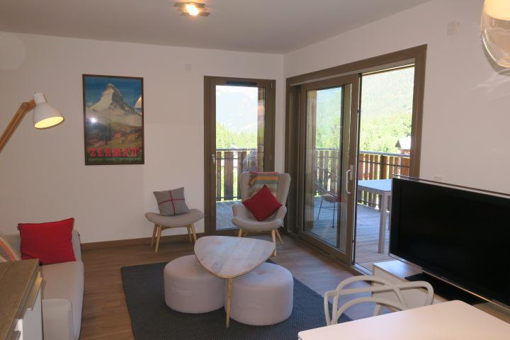 Vacaciones en montaña Apartamento cabina 3 piezas para 6 personas (B205) - Résidence les 4 Eléments - Châtel - Estancia