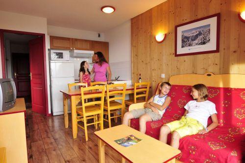 Vacances en montagne Appartement 3 pièces 6 personnes - Residence Les 4 Vallees - Saint-François Longchamp - Clic-clac