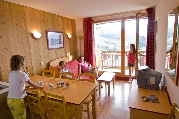 Vacances en montagne Residence Les 4 Vallees - Saint-François Longchamp - Séjour