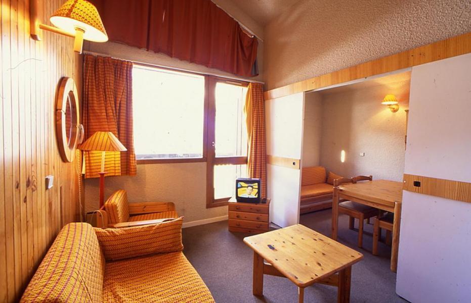 Urlaub in den Bergen Résidence les Adrets - Isola 2000 - Sitzbank
