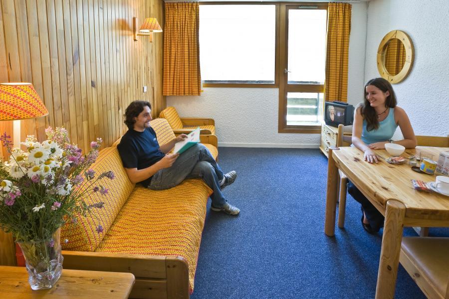Urlaub in den Bergen Résidence les Adrets - Isola 2000 - Wohnzimmer