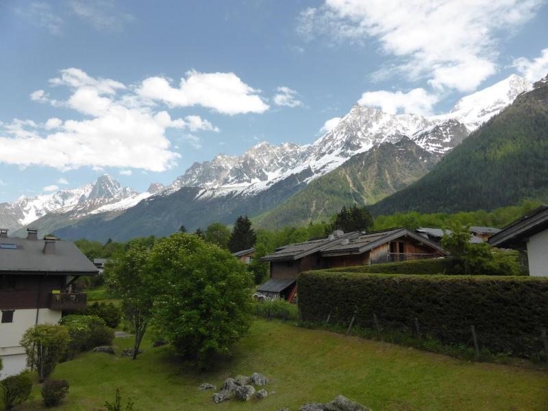 Wakacje w górach Apartament 2 pokojowy kabina 5 osób (B6) - Résidence les Aiguilles Rouges - Les Houches - Na zewnątrz latem