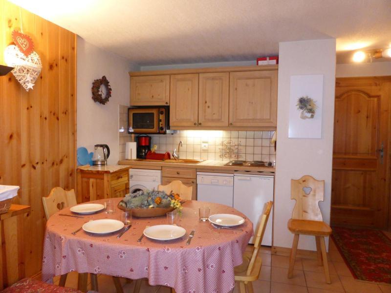 Wakacje w górach Apartament 2 pokojowy kabina 5 osób (B6) - Résidence les Aiguilles Rouges - Les Houches - Zakwaterowanie