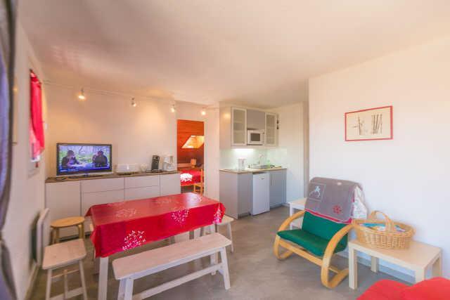 Vacaciones en montaña Apartamento cabina 2 piezas para 6 personas (67A) - Résidence les Airelles - Risoul