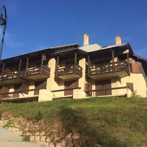Location au ski Appartement duplex 4 pièces 6 personnes (208) - Residence Les Alpages - Vars - Extérieur été