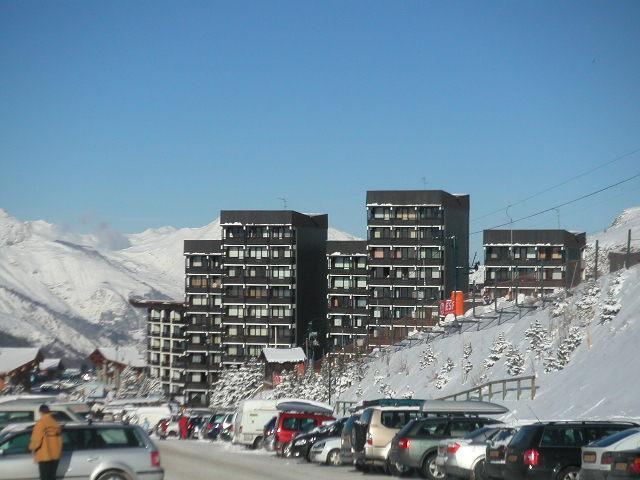 Vacances en montagne Résidence les Alpages - Les Menuires
