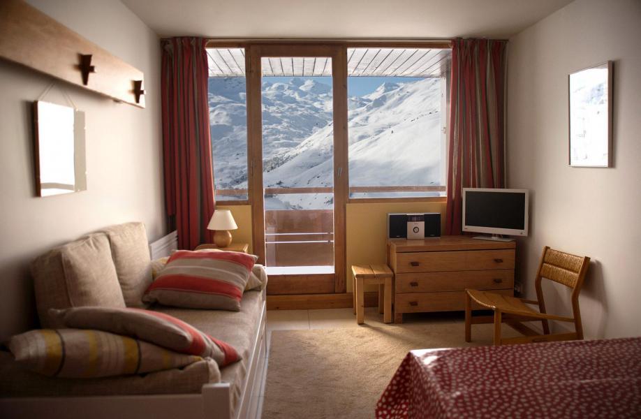 Vacances en montagne Appartement 3 pièces 6 personnes (801) - Résidence les Alpages - Les Menuires - Séjour
